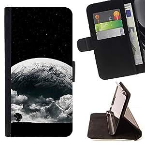 Momo Phone Case / Flip Funda de Cuero Case Cover - Surrealista Luna;;;;;;;; - Apple Iphone 6 PLUS 5.5