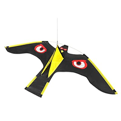 Sanmubo Trade Eagle Kite Huge Kite Flying Hawk for Kids Adults Beach Trip Park Family Outdoor Games and Activities Garden: Garden & Outdoor