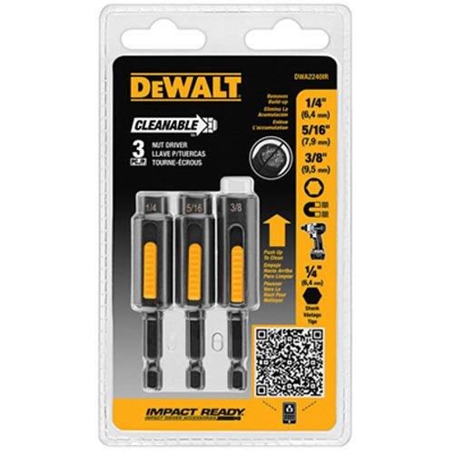DEWALT DWA2240IR 3 Piece Cleanable Nutsetter