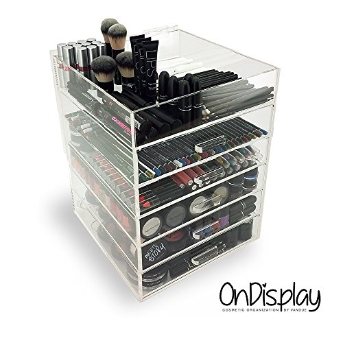 Price comparison product image OnDisplay 7 Tier Acrylic Cosmetic/Makeup Organizer