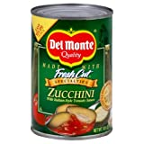 Del Monte, Zucchini with Italian Style Tomato Sauce, 14.5oz Can (Pack...