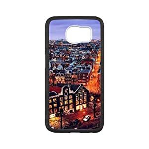 Samsung Galaxy S6 Cell Phone Case Covers White amsterdam City Phone cover M8820071