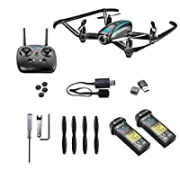 Altair #AA108 Camera Drone, RC Quadcopter w/ 720p HD FPV Camera VR, Headless Mode, Altitude Hold, 3 Skill Modes, Great for Kids & Beginners, Easy Fly Indoor Drone, 2 Batteries by ALTAIR INC