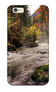 Eatcooment Top Quality Case Cover For Iphone 6 Case With Nice Forest River Appearance
