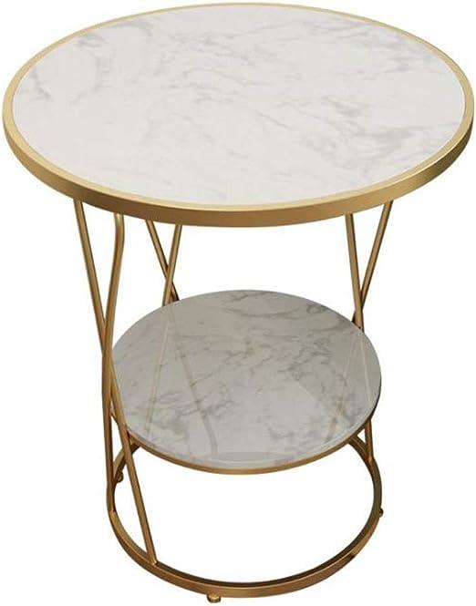 Mesa de Centro, Fin de la tabla de mármol mesas redondas laterales ...