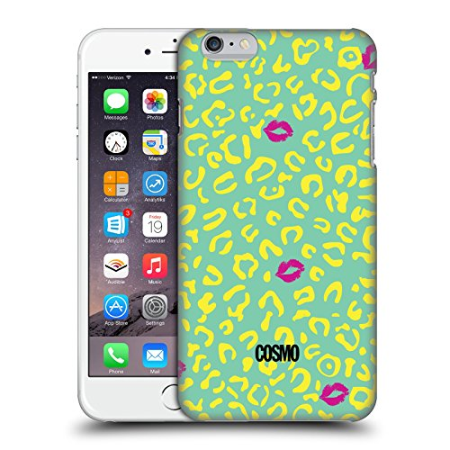 Official Cosmopolitan Mint Sassy Leopard Hard Back Case for Apple iPhone 6 Plus / 6s Plus