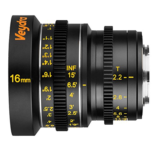Veydra V1-16T22M43I Mini Prime 16mm T2.2 Imperial Cinema for sale  Delivered anywhere in USA