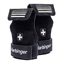 Harbinger Lifting Grips, Black, Large/X-Large