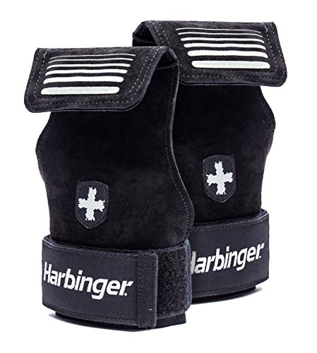 Harbinger 20240 P Lifting Grips Black