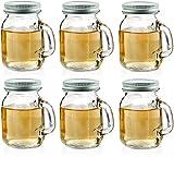 Best Circleware Glass Jars - Circleware Mason Jar Mug Shot Glasses with Glass Review