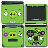 Angry Birds Bad Piggies Space Go Epic Fight Pig Video Game Vinyl Decal Skin Sticker Cover for Nintendo GBA SP Gameboy Advance System
