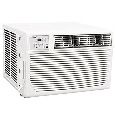 Koldfront 8,000 BTU Window Heat / Cool Window Air Conditioner with Remote (WAC8001W)