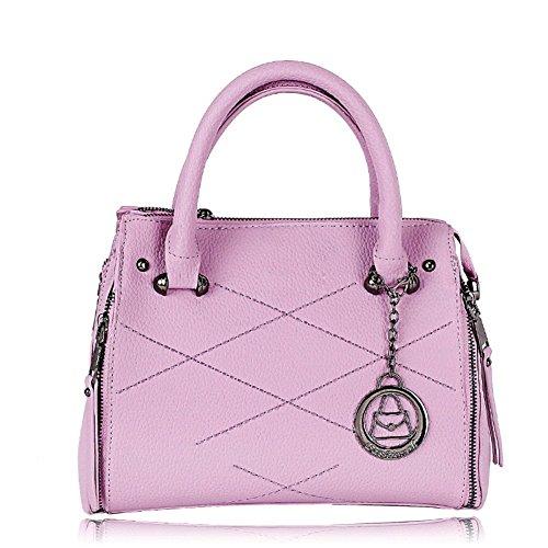 Kssia Hb990014c5 Fashionable Pu Leather Europe Women's Handbag Shell Type Fringed Bag