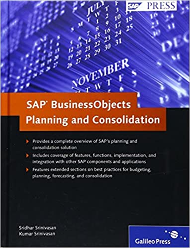 SAP Business Objects Planning and Consolidation