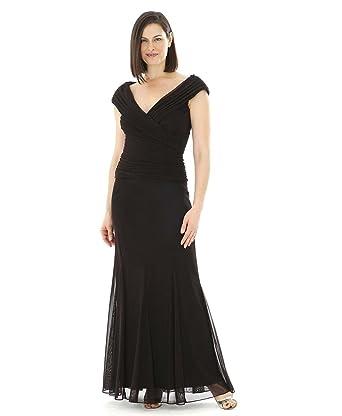 Alex Evenings Plus Size Black Tie Gown 432142 At Amazon Womens