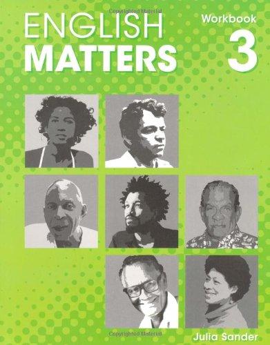 English Matters (Caribbean) Level 3: Workbook