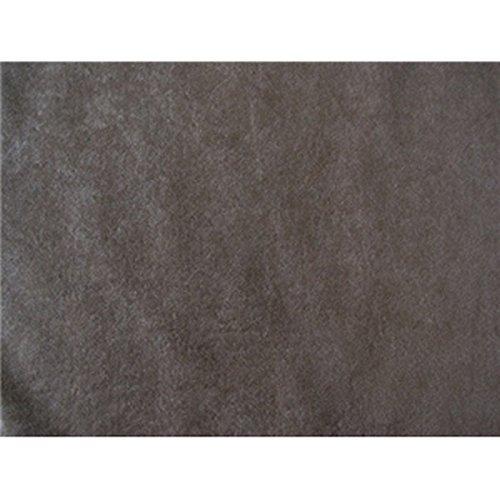 SyFabrics alova suede cloth fabric 58 inches wide Gray