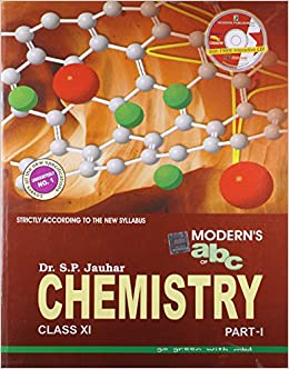 Moderns ABC of Chemistry for Class XI Set of 2 Parts, with