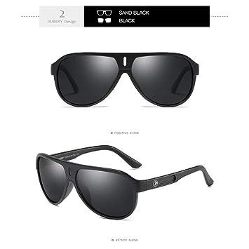 Burenqi Gafas de Sol polarizadas para Hombres Pantallas de ...