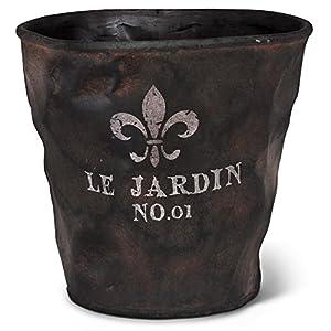 Abbott collection ceramic le jardin planter for Le jardin quoi planter