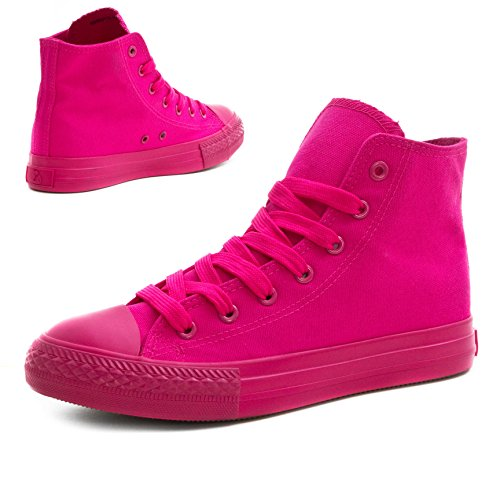 Turnschuhe Damen Unisex Low All Klassische High Pink Top Herren Sneaker High Schuhe TU885wq