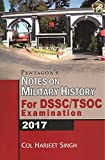 Pentagon's Notes on Military History for DSSC/ TSOC Examination 2017