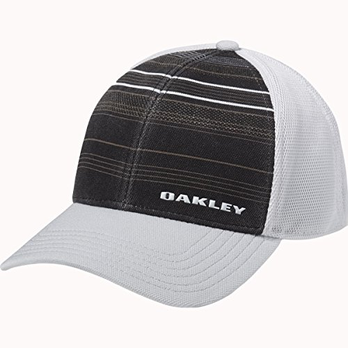 Oakley Men's Silicone Bark Trucker Print 2.0 Cap, Small/Medium, (Elite Stretch Hat)