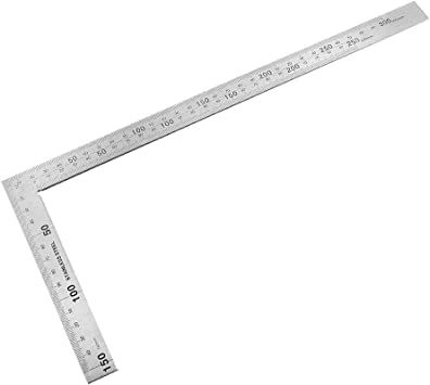 Clamp Measuring Tools Level Ruler Square Angle Metric Ruler Stainless Steel