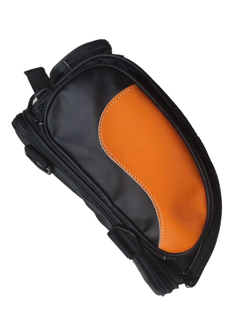 Custom Universal Flame Saddlebags Tank Tail Helmet Saddle Bag Backpack Cruiser Chopper Touring Scooter Offroad