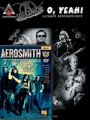 - Aerosmith Guitar Pack: Includes O Yeah!: Ultimate Aerosmith Hits book and Aerosmith Guitar Play-Along DVD