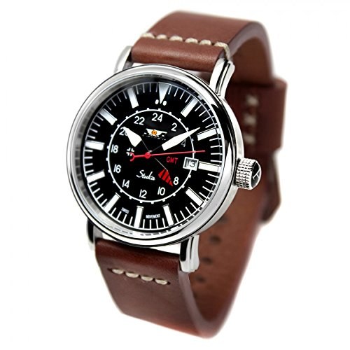 Reloj AVIADOR AV-1066-NPM - Reloj hombre edicion especial Stuka con esfera negra