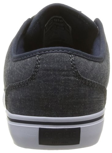 Blue Globe Chambray Trainers Unisex Blau 13094 Mahalo Adults' qPTXawP