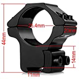 "LIRISY 1"" Scope Mount Low Profile Scope Rings for"