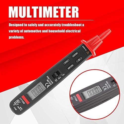 DJYD Digital Multimeter UT118B AC/DC Current Resistance Tester Portable Pen Type Voltage Detector Electrical Voltmeter Ammeter with Penlight FDWFN