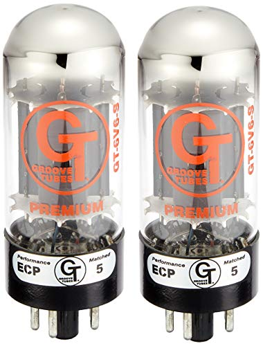 Groove Tubes GT-6V6-S Medium Duet Amplifier Tube (Tubes Groove 6v6)