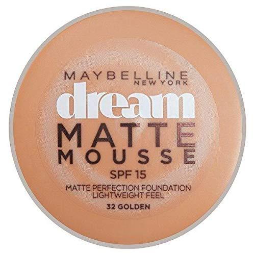 Maybelline Dream Matte Mousse Foundation 032 Golden 18ml