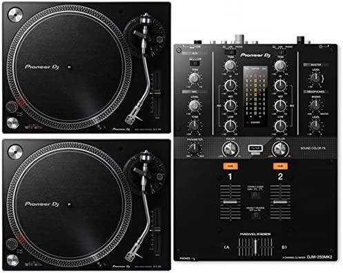 plx500-pack, Kit 2 Tocadiscos plx500 K + Mixer djm250mkii ...