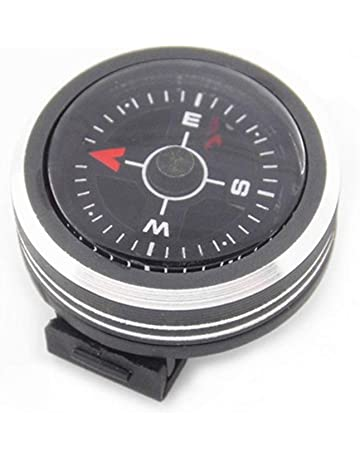 Shangshu Desmontable Reloj Brújula Escalada Portátil Brújula Acampar Al Aire Libre Senderismo Dirección Herramienta