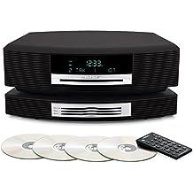 [Patrocinado] Bose Wave sistema de música III W/Multi CD Changer–Grafito Gris–Bundle