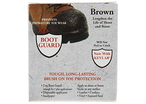 Kgs Boot Guard, Tough Long-lasting Brush on Toe ProtectionBrown