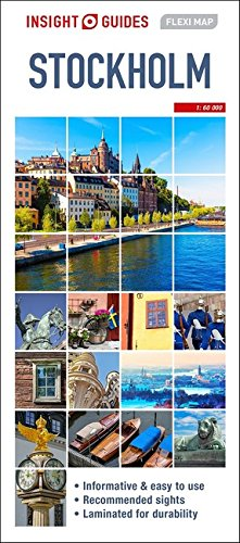 Insight Guides Flexi Map Stockholm (Insight Flexi Maps)