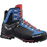 Salewa Men's Raven 2 GTX Mountaineering Boot, Mayan Blue/Papavero, 8.5