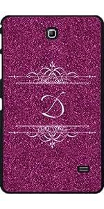 Funda para Samsung Galaxy Tab 4 (7 pulgadas) - Pink Glitter D