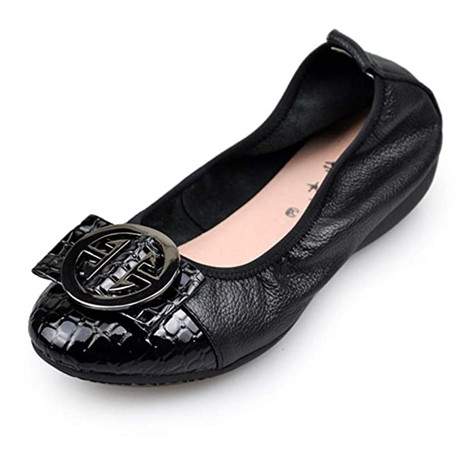 Zapatos Casuales Mujeres Trabajo De Ballet Bombas Planas Mocasines: Amazon.es: Ropa y accesorios