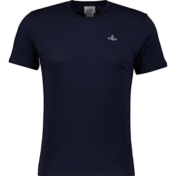 the sale of shoes so cheap super quality Vivienne Westwood Men's Short Sleeve Peru Tee (XL, Ink Blue ...