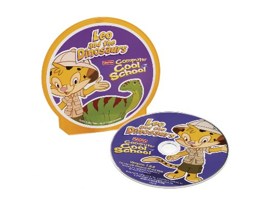 Fun 2 Learn Computer Cool School Software Leo's Dinosaur Adventure by Fisher-Price (Image #1)