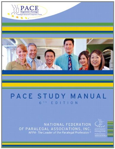 PACE Study Manual (6th Edition)