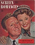 img - for Screen Romances, vol. 38, no. 3 (February 1948) (Van Johnson & June Allyson cover) (Cass Timberlane, Northwest Stampede, Road to Rio, The Naked City, The Sign of the Ram, The Ballad of Furnace Creek) book / textbook / text book