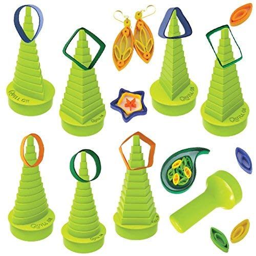 Quill On-Ultimate Border Buddy- Green- Quilling Borders Made - Quilling Kit Easy