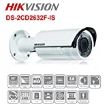 Hikvision 3MP Outdoor Dome Camera with zoom lens, IR range of 100 ft., IP66 rated, with Smart alarm features and MicroSD card slot